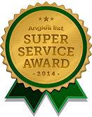 Angie's List Super Service Award Schaffer Construction
