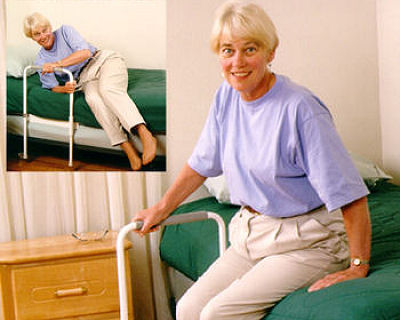 Aging in place bedroom solutions poles rails