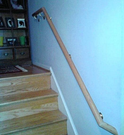 Custom hand rail