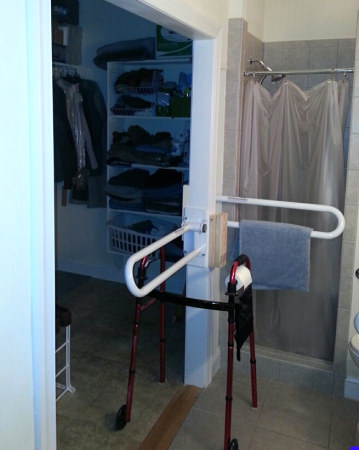 Physical therapy rails
