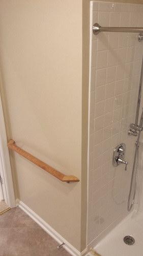 Shower rails