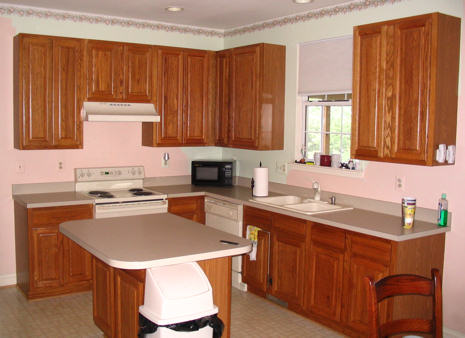 Remodeled Kitchen Before
